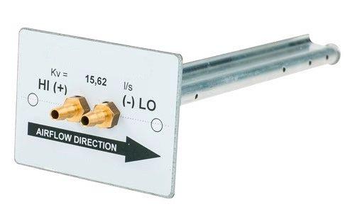 FLOW-PITOT-RECT-250-A-600MM Tube de pitot pour gaine rectangulaire, supérieur à 250mm