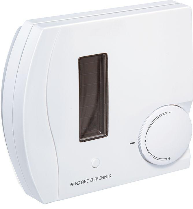 RFTF2-FSE-PT Capteur combiné température et humidité d'ambiance radio EnOcean, avec potentiometre et bouton poussoir