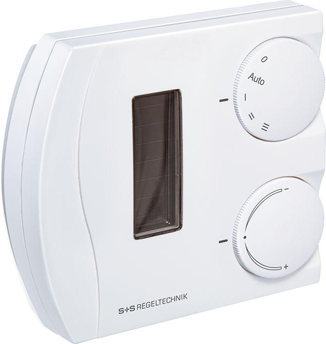 RFTF2-FSE-PD Capteur combiné température et humidité d'ambiance radio EnOcean, avec potentiometre et commutateur