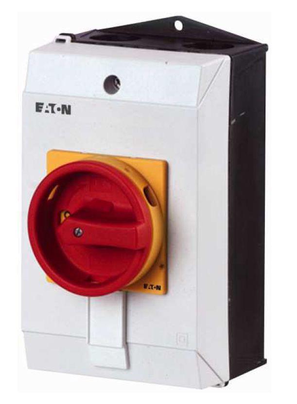 P1-25-I2-SVB-HI11 Interrupteur de proximité 3 pôles + contact, 7,5 KW (AC 23A), Intensité : 25A