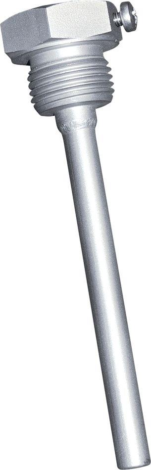 THR-VA-09-200mm Doigt de gant 200mm en acier inox pour thermostat à plongeur à 1 étage 'ETR'