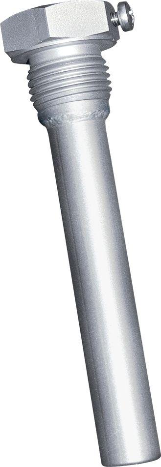 THR-VA-17-200mm Doigt de gant 200mm en acier inox pour thermostat à plongeur à 2 étages 'ETR'