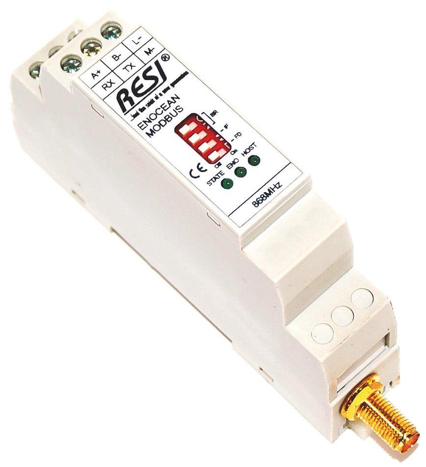 ENOCEAN-GW Passerelle bidirectionnelle radio EnOcean vers RS232 ou RS485