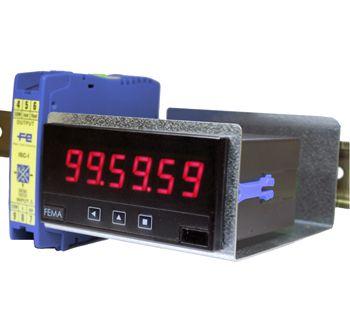 FE-DRA-M Adaptateur rail DIN pour afficheur d'armoire