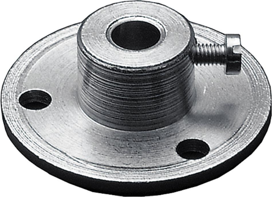 MF-06-M Bride en acier zingué pour montage en gaine / diamètre = 6,3mm