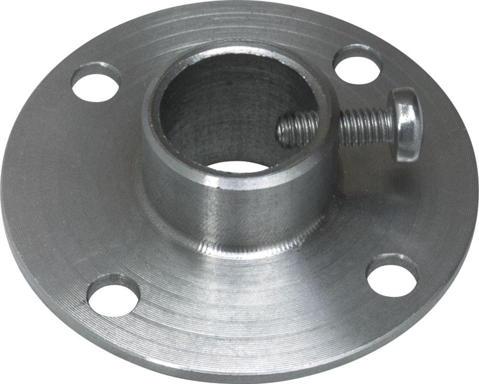 MF-14-M Bride en acier zingué pour montage en gaine / diamètre = 14,3mm