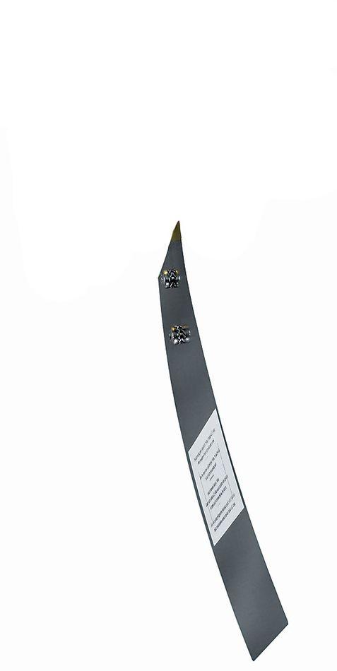 PWFS-08 Palette en acier inox pour contrôleur de flux d'air WFS