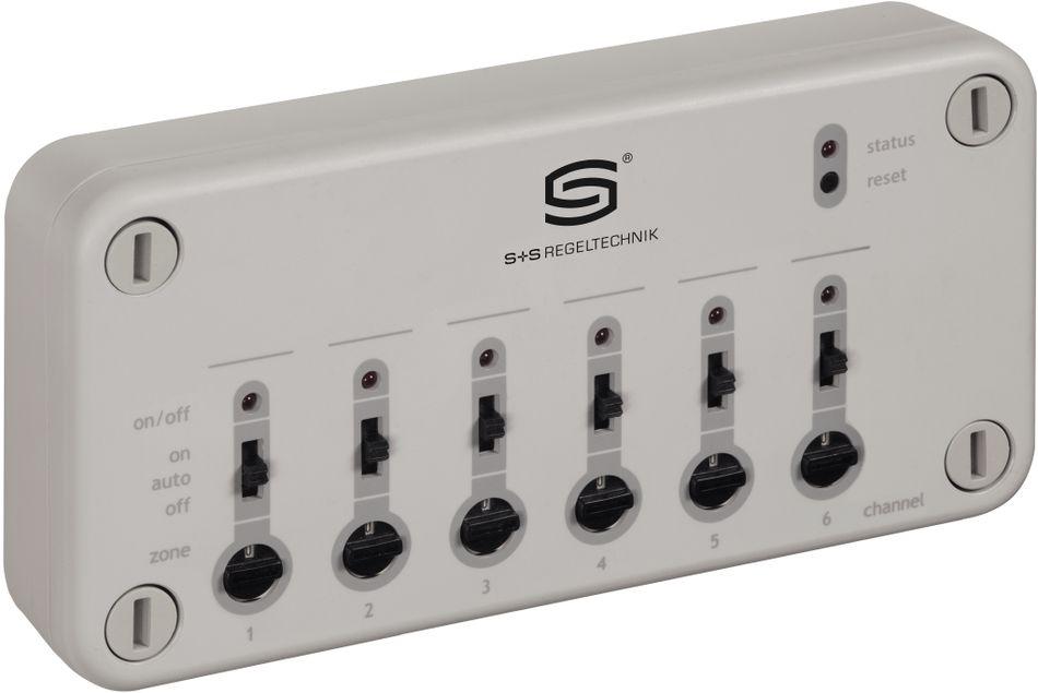 SV600-FEM-AP Récepteur radio EnOcean, actionneur de soupage de réglage à 6 canaux